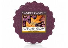 Yankee Candle Autumn Glow - Žiarivý jeseň vonný vosk do aromalampy 22 g