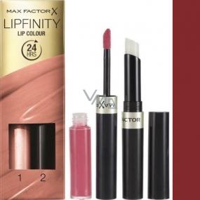 Max Factor Lipfinity Lip Colour rtěnka a lesk 110 Passionate 2,3 ml a 1,9 g