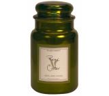 Village Candle Hruškové osvieženie - Pear Cooler vonná sviečka v skle 2 knôty 602 g
