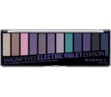 Rimmel London Magnifeyes Paleta očných tieňov 008 Electric Violet Edition 14,16 g