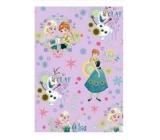 Ditipo Disney Vianočný baliaci papier pre deti svetlo ružový Ľadové kráľovstvo 2 mx 70 cm