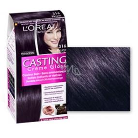 Loreal Paris Casting Creme Gloss barva na vlasy 316 tmavá fialová