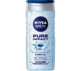 Nivea Men Pure Impact sprchový gél na telo, tvár a vlasy 250 ml