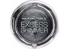 Max Factor Excess Shimmer Eyeshadow gelové oční stíny 30 Onyx 7 g