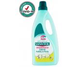 SANYTOL Citrón a Olivové lístky dezinfekčný čistiaci prostriedok na podlahy a plochy 1 l