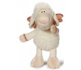 Nici Ovečka Jolly houpající bílá Plyšová hračka - nejjemnější plyš 20 cm