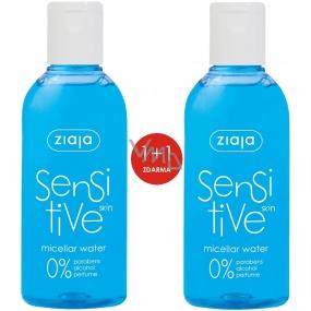 Ziaja Sensitive Skin micelárna voda pre citlivú pleť 2 x 200 ml, duopack