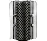 Linziclip Maxi Vlasový skřipec perleťově černý s šedou mozaikou 8 cm vhodný pro hustší vlasy 1 kus