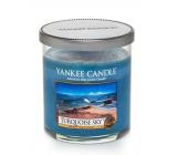 Yankee Candle Turquoise Sky - Tyrkysové nebe vonná svíčka Décor malá 198 g