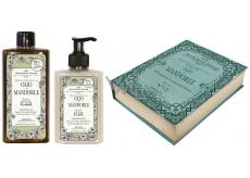Amovita Olio di Mandorle sprchový gel 300 ml + tělové mléko 300 ml, kosmetická sada