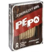 Pe-Po Jednorázový gril, doba grilování 90-120 minut