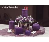 Lima Wellness Levandule aroma svíčka válec 60 x 120 mm 1 kus
