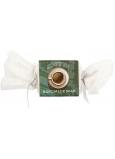 Bohemia Gifts Coffee ručne vyrábané toaletné mydlo s kofeínom a glycerínom bonbón 30 g