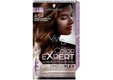 Schwarzkopf Color Expert farba na vlasy 4.54 Tmavo karamelový