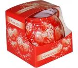 Admit Romantica dekorativní aromatická svíčka ve skle 80 g