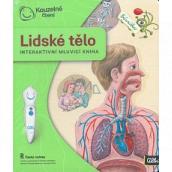 Albi Kúzelné čítanie interaktívne hovoriace kniha Ľudské telo vek 5+