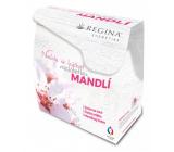 Regina Mandľový olej krém na ruky 60 ml + čistiace mlieko 200 ml + pleťový krém. 45 g, darčeková sada