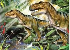 Prime3D Plagát Dinosaury - dvojitá ťažkosť 39,5 x 29,5 cm