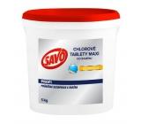 Savo Maxi Chlórové tablety do bazéna dezinfekcia Maxi 5 kg