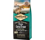 Carnilove Adult Fresh Carp & Trout superprémiové kompletné krmivo pre dospelých psov všetkých plemien 12 kg