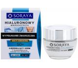 Soraya Hyaluronic Micro-Injection 50+ spevňujúci krém s transdermálnej kyselinou hyalurónovou na deň / noc 50 ml