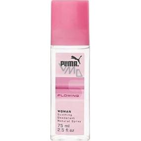 Puma Flowing Woman parfémovaný deodorant sklo pro ženy 75 ml