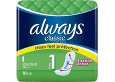 Always Classic Standard intimní vložky 10 kusů