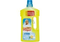 Mr. Proper Clean & Shine Lemon univerzální čistič včetně lakovaného dřeva a laminátu 1 l