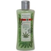 Bohemia Gifts & Cosmetics Cannabis Konopný olej regenerační sprchový gel 250 ml