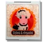 Nekupto Miss Cool Dárkové zrcátko do kabelky 004 Ovečka Stylová & elegantní 1 kus