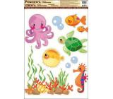 Room Decor Samolepky na zeď Moře chobotnice 42 x 30 cm 1 arch
