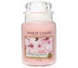 Yankee Candle Cherry Blossom - Třešňový květ vonná svíčka Classic velká sklo 623 g