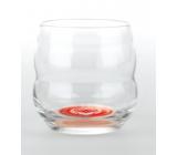 Masaru Emoto Mythos poháre Veľké srdce (Sova / Sdrce) - červená 0,25 l