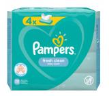 Pampers Fresh Clean vlhčené obrúsky pre deti 4 x 52 kusov