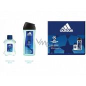 Adidas UEFA Champions League Dare Edition VI toaletná voda pre mužov 50 ml + sprchový gél 250 ml, darčeková sada
