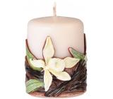 Emóciám Vanilka Vanilla sviečka valec 50 x 60 mm
