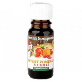 Slow-Natur Červený pomaranč & Chilli Vonný olej 10 ml