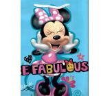 Nekupto Darčeková papierová taška 32 x 26 x 12 cm Minnie Mouse 2048 LGL