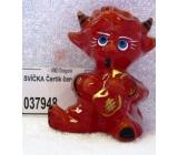 Lima Čertík sviečka červená 1 kus