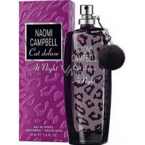 Naomi Campbell Cat Deluxe At Night toaletná voda pre ženy 50 ml