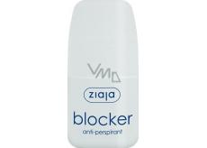 Ziaja Blocker guličkový antiperspirant dezodorant roll-on pre ženy 60 ml