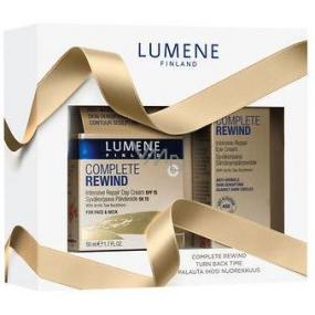 Lumene Complete Rewind SPF 15 Intensive Repair denní krém 50 ml + Complete Rewind Intensive Repair oční krém 15 ml, kosmetická sada