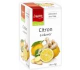 Apotheke Natur Citrón a zázvor ovocný čaj 20 nálevových vrecúšok x 2 g
