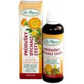 Dr. Popov Priedušky & dýchacie cesty originálne bylinné kvapky 50 ml