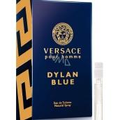 Versace Dylan Blue toaletná voda pre mužov 1 ml s rozprašovačom, vialky