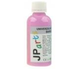 JP arts Univerzální akrylátová barva lesklá, svítící ve tmě Neon fialová 50 g