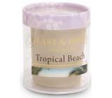 Heart & Home Tropická pláž Sojová svíčka bez obalu hoří až 15 hodin 53 g