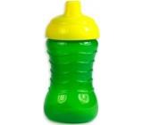 First Steps Spill Proof Sipper Cup láhev nekapající pro děti 12+ zelená 310 ml
