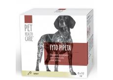 Pet Health Care Fytopipeta Repelentný pipeta pes od 20 kg 6 x 10 ml ZĽAVA zár.01 / 2019