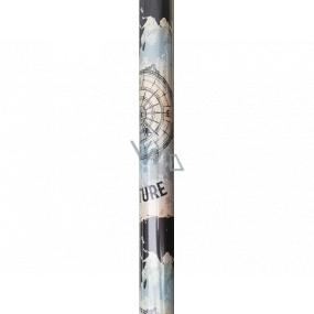 Nekupto Darčekový baliaci papier 70 x 150 cm adventure 005